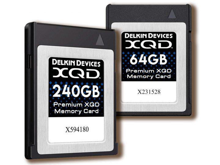 Delkin lancerer XQD-kort med maksimal ydelse