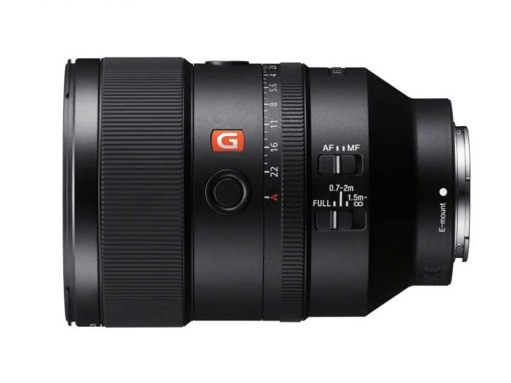 Sony udvider deres full-frame objektivserie med nyt 135mm F1.8 G Master prime-objektiv