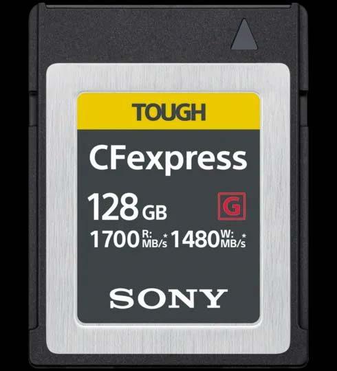 Sony udvikler CFexpress Type B-hukommelseskort med ultrahurtig læse- og skrivehastighed